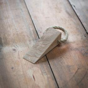 Raw Oak Door Wedge