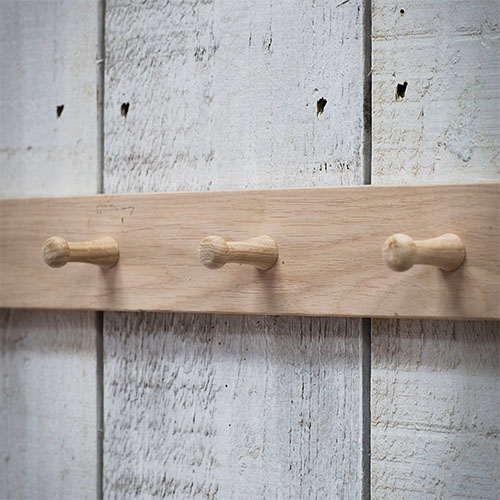 Hambledon 3 Peg Hook Rack
