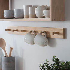 Hambledon 6 Peg Hook Rack