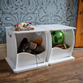 Stacking Shoe Storage Trunk