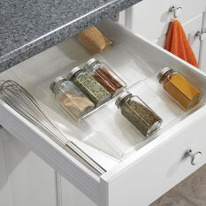 Extendable In-Drawer Spice Rack