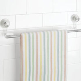Power Lock Towel Bar