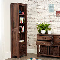 Narrow Bookcase - Mayan