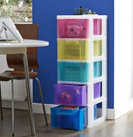 Really Useful 5 Drawer Storage Tower