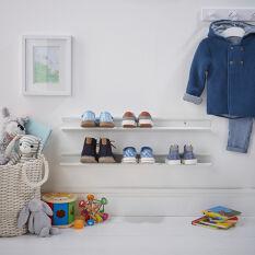 Wall Mounted Shoe Rack - Kid's