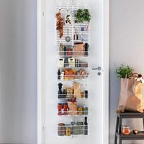 Elfa Door & Wall Rack - Pantry Storage