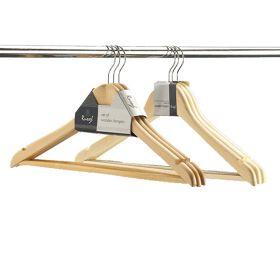 Set of 3 Wooden Hangers
