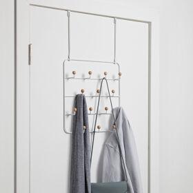 Wall Mounted / Over Door Multi Hook Organiser - Estique