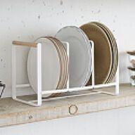 Scandi Triple Vertical Plate Rack