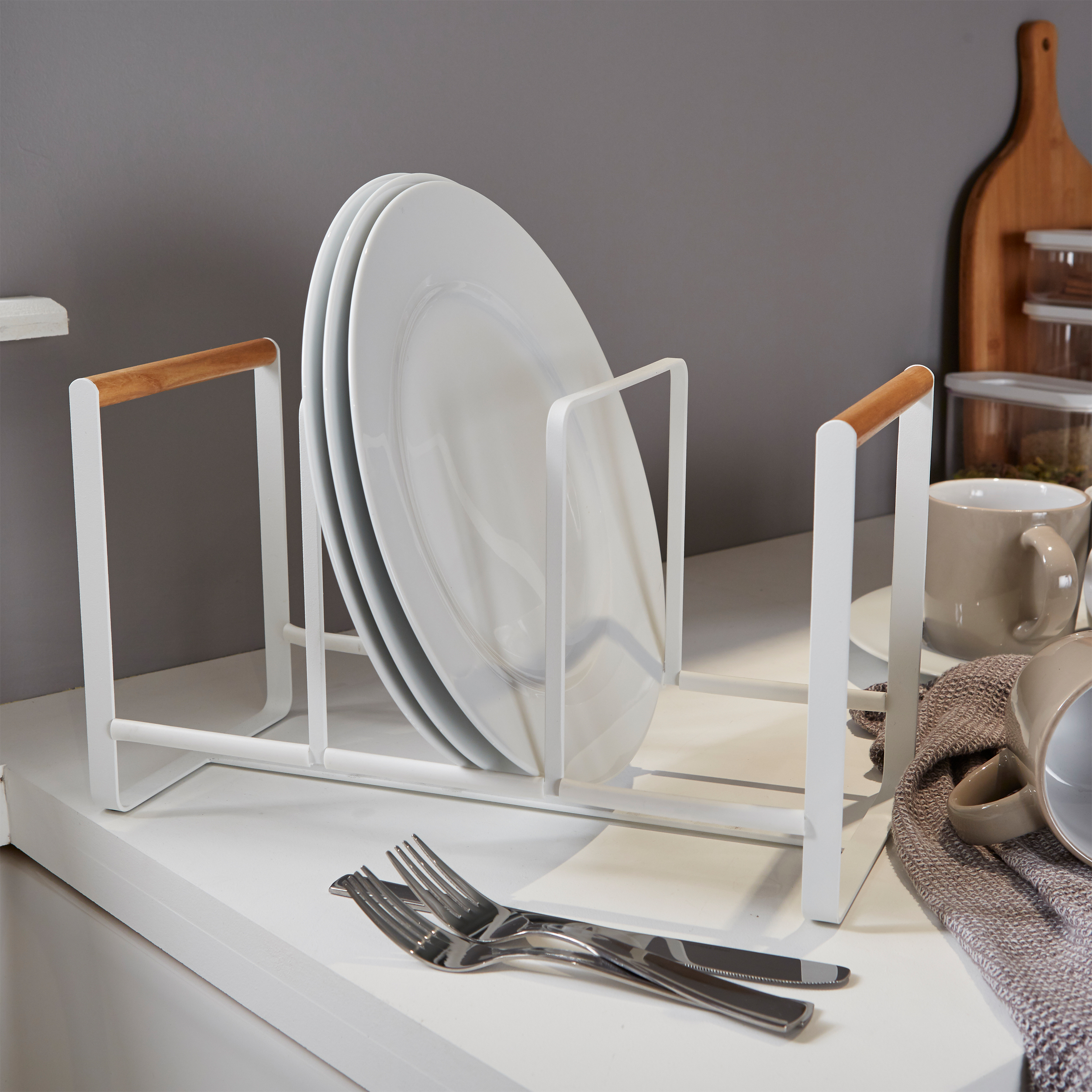 Scandi Triple Vertical Plate Rack Reviews A Place For Everything Reviews Feefo