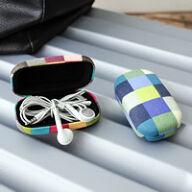 Earphone Storage Case - Plad