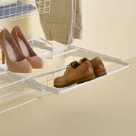 Elfa Gliding Shoe Shelf - 60cm