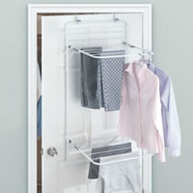 Over Door Clothes Drying Rack