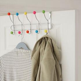 Over Door Multicoloured Coat Hook