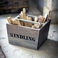 Kindling Wood Box