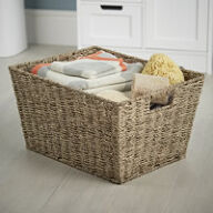 Tapered Seagrass Basket