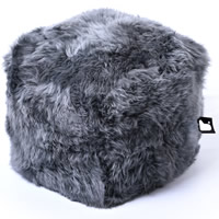 B-Box Footstool - Sheepskin