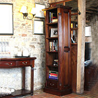 Narrow Alcove Bookcase - La Roque