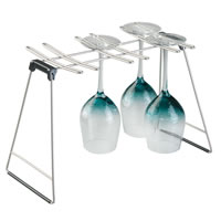 Sink Side Wine Glass Drying Rack