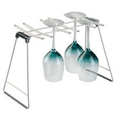 Sink Side Wine Glass Drying Rack