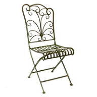 2 x Folding Garden Chairs - Lucton