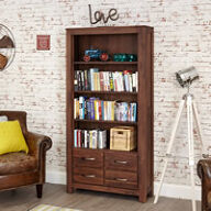 4 Drawer Bookcase - Mayan