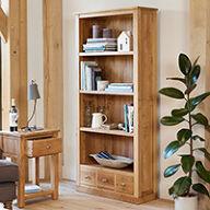 Large 3 Drawer Bookcase - Mobel