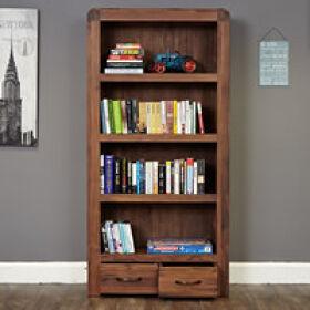 Large 2 Drawer Bookcase - Shiro