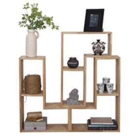 Tetris Stacking Shelves - Oak
