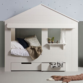 Huisie Children's Cabin Bed With Drawers