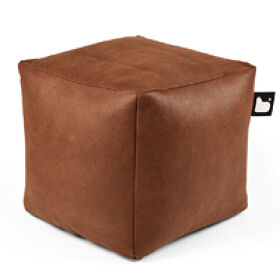 B-Box Footstool- Faux Leather