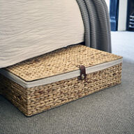 Underbed Storage Basket - Water Hyacinth