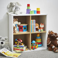 Quad Cube Toy Shelving Unit