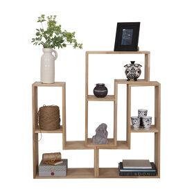 3 x Tetris Stacking Shelves Set - Oak