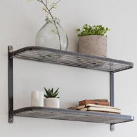 Farringdon Double Wall Shelf