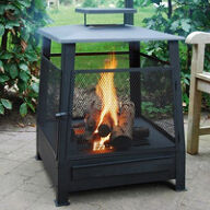 Square Fire Basket