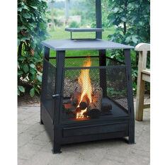 Square Fire Basket