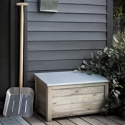 Aldsworth Wooden Log Box - Small