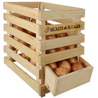 Pinewood Onion Crate