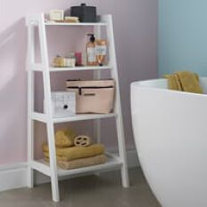 4 Tier Shelf Ladder
