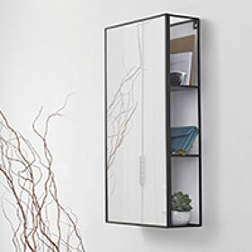 Hallway Storage Mirror