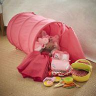 Pop Up Toy Bin - Pink