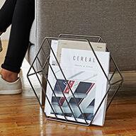 Zina Magazine Rack