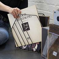 Vinyl LP Storage Rack - Zina