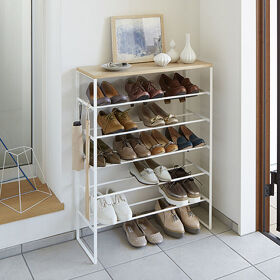 6 Tier Shoe Console - Tower