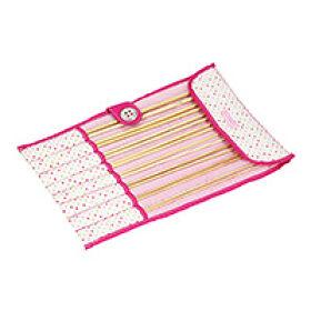 Stackers Knitting Needle Roll - Polka