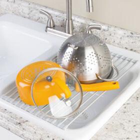 Over Sink Draining Board Dish Rack