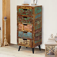 5 Drawer Tallboy - Coastal Chic