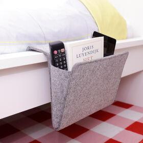 Tech Storage Pocket - Grey Felt