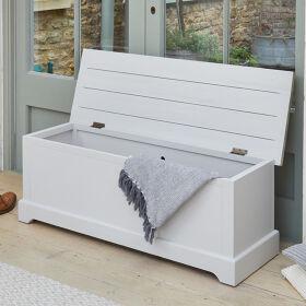 Grey Wood Hallway Storage Bench - Signature Grey